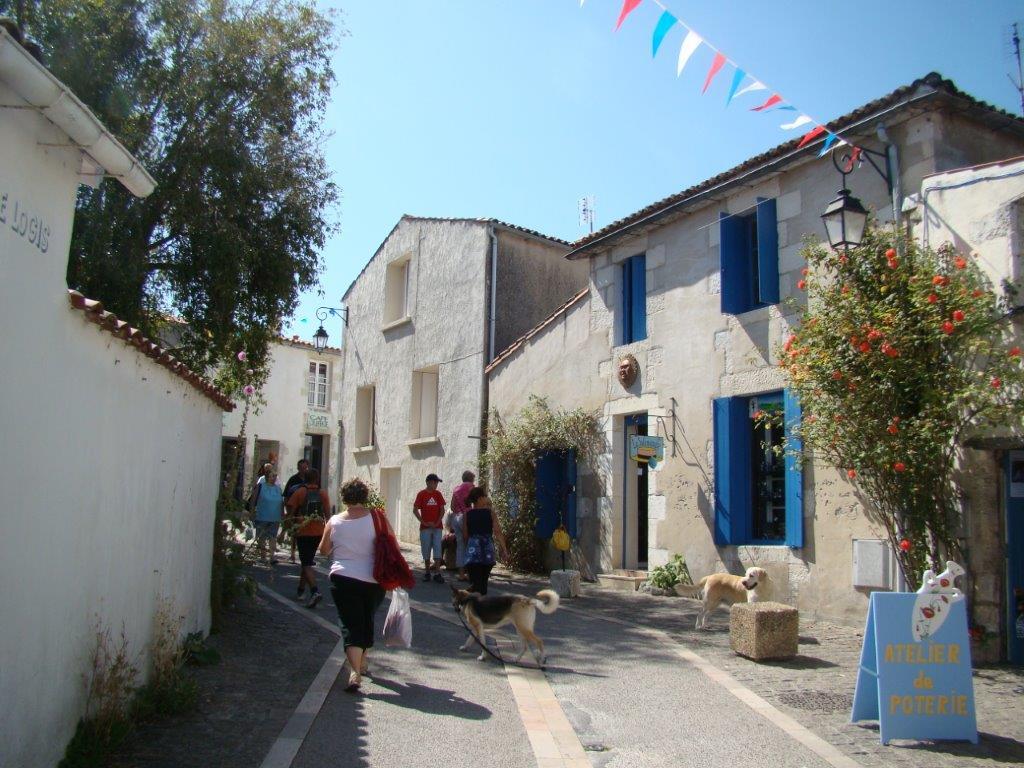 Visite de Mornac sur Seudre