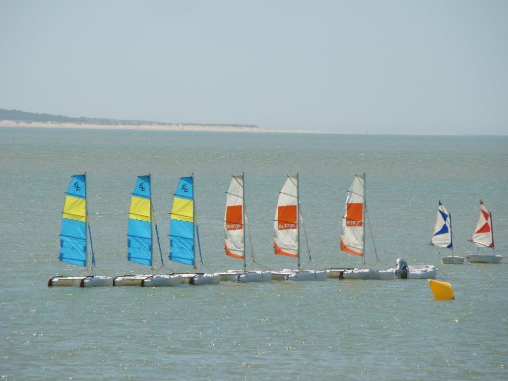 activités nautiques près du camping en Charente Maritime