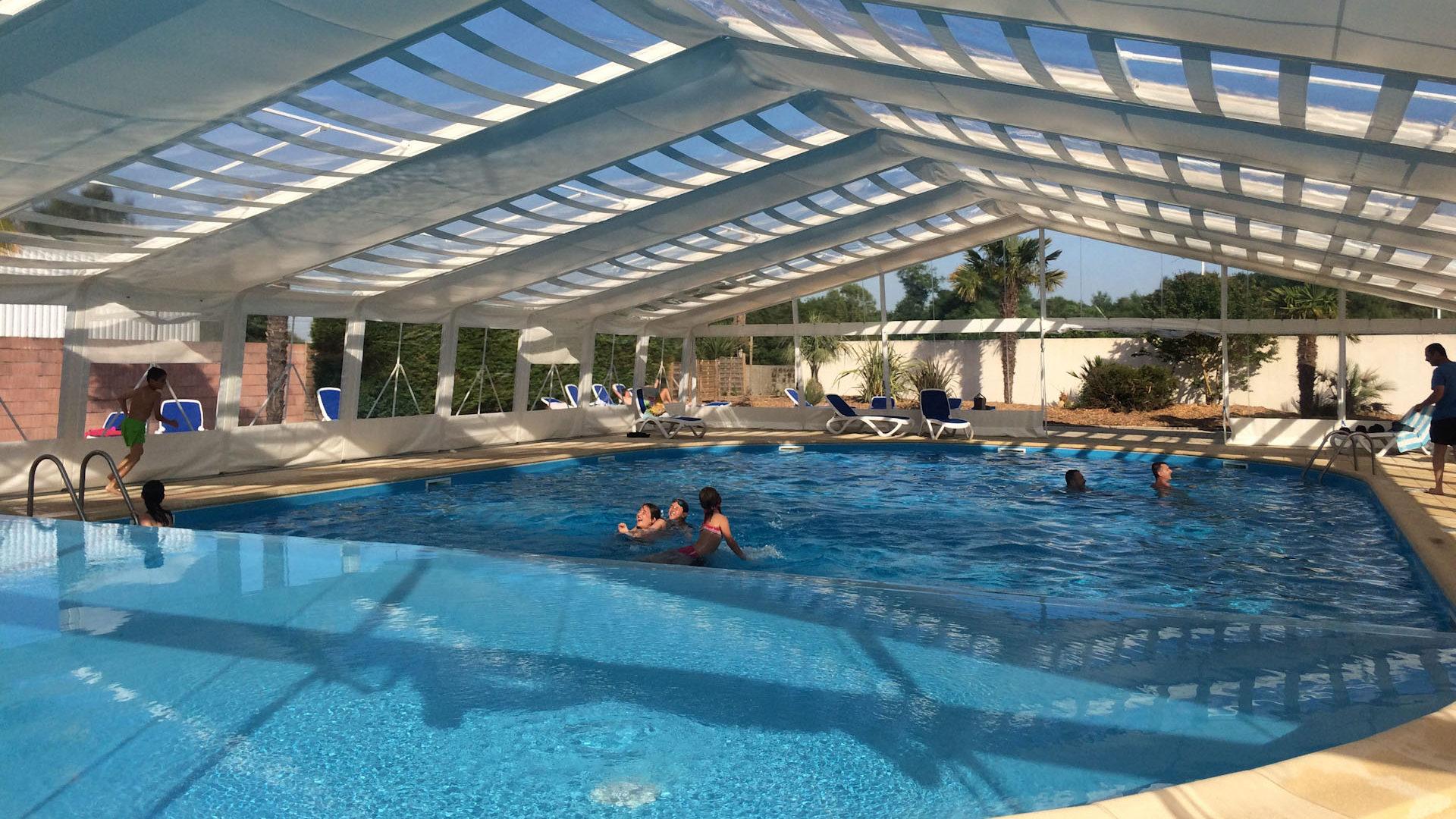 Camping en Charente Maritime avec piscine couverte